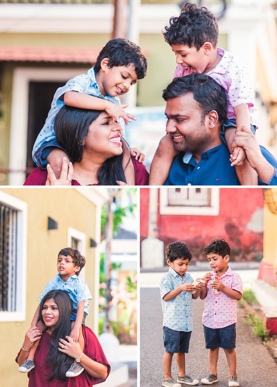 Family Photographer in Panjim