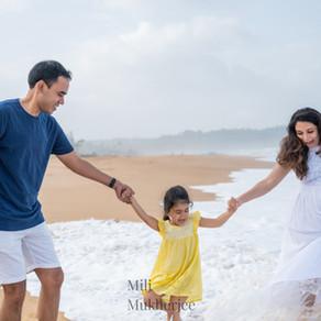 Waiting for her little sister| Family photographer in Goa