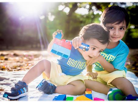 Boys will be boys ⎥Family Photographer in Delhi