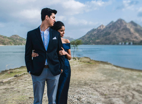 The Mr. and Mrs. and The Very Pretty City | Pre Wedding in Udaipur
