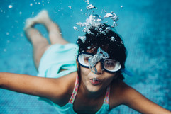 Underwater Kids Photography in India