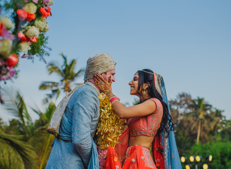 A Beautiful Wedding in Goa | Destination Wedding Photographer in Goa