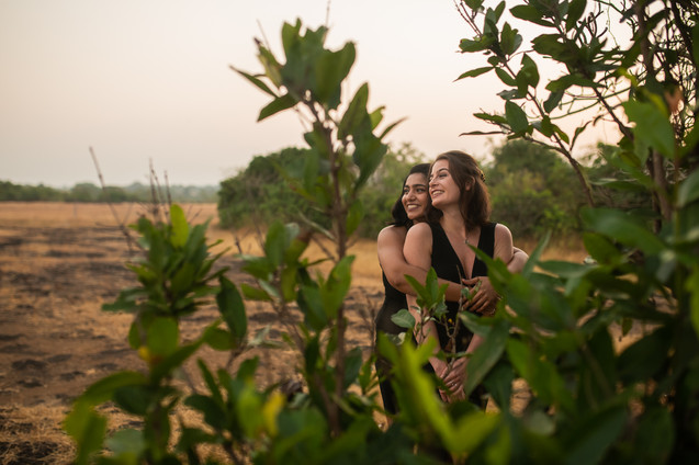 Same Sex Couple shoot in India