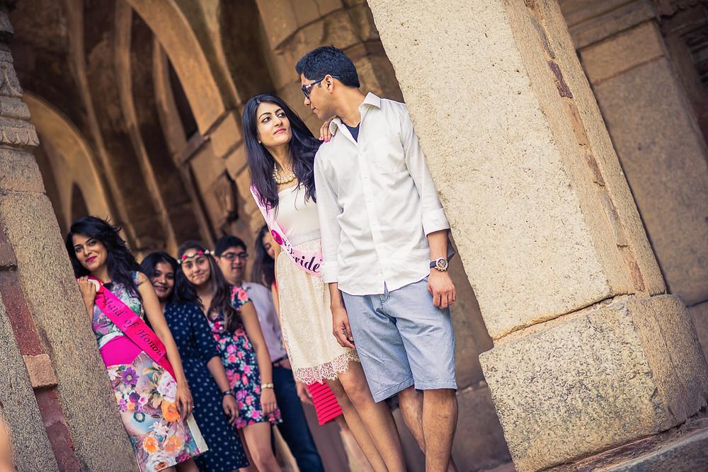 Creative Pre Wedding Shoot India