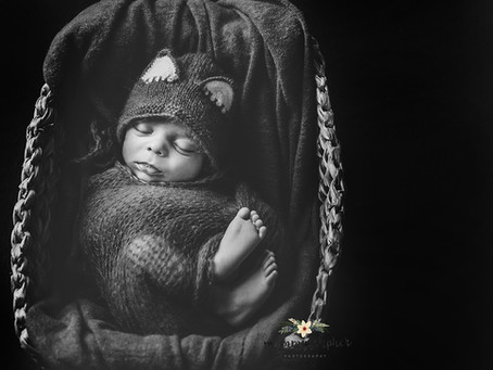 Little Mr. ⎟Newborn Photographer in Varanasi