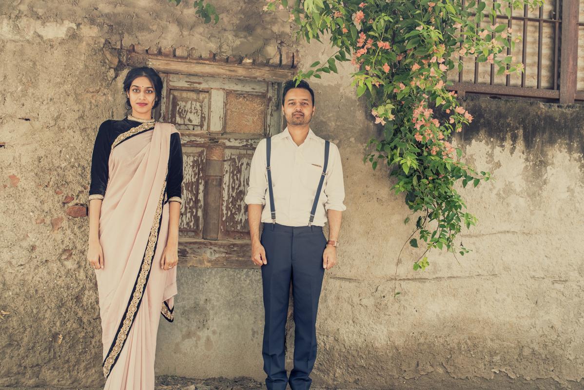 Vintage Theme Couple Shoot in Delhi