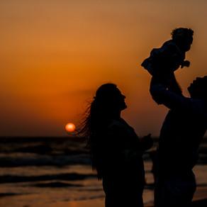 Evening full of love in Goa | Baby Photographer in Goa