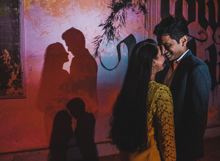 A Midnight PreWedding Shoot in Delhi | Wedding Photographer in Delhi