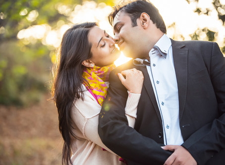 Love in the Mountains | Just Married Photo Session in Kumaon, India | Best Wedding Photographer in G