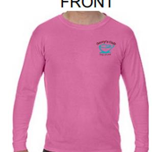 Long Sleeve T-Shirt (pink)