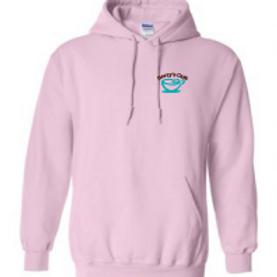 Hoodie Sweatshirt - Light Pink