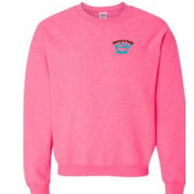 Crewneck Sweatshirt (hot pink)