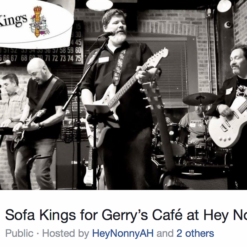 Sofa Kings for Gerry's Cafe at Hey Nonny