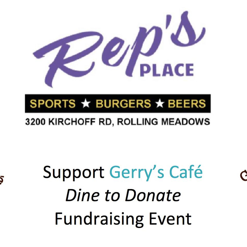 Rep's Place dine to donate for Gerry's Cafe