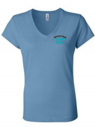 Short Sleeve V-Neck (lt blue)