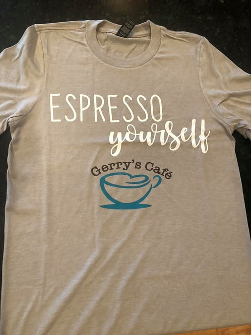 Espresso yourself T-Shirt, Grey