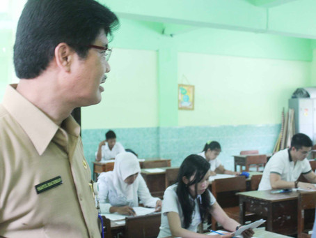 Kepala Dinas Pendidikan Jatim Sidak UN Kesetaraan Paket C
