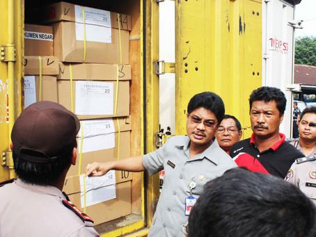 Antisipasi Hari Buruh, Pengiriman Naskah UN SMP Di Percepat