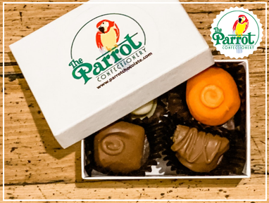 The Parrot Chocolate Box