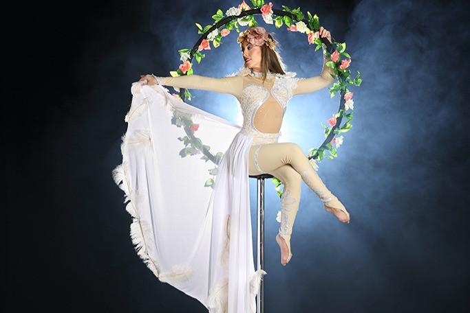 Aerial performer