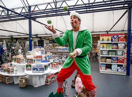 Live Performers | Christmas Entertainment for Dobbies Garden Centre