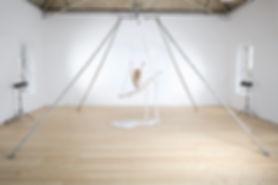 Aerial Silk Perfomer