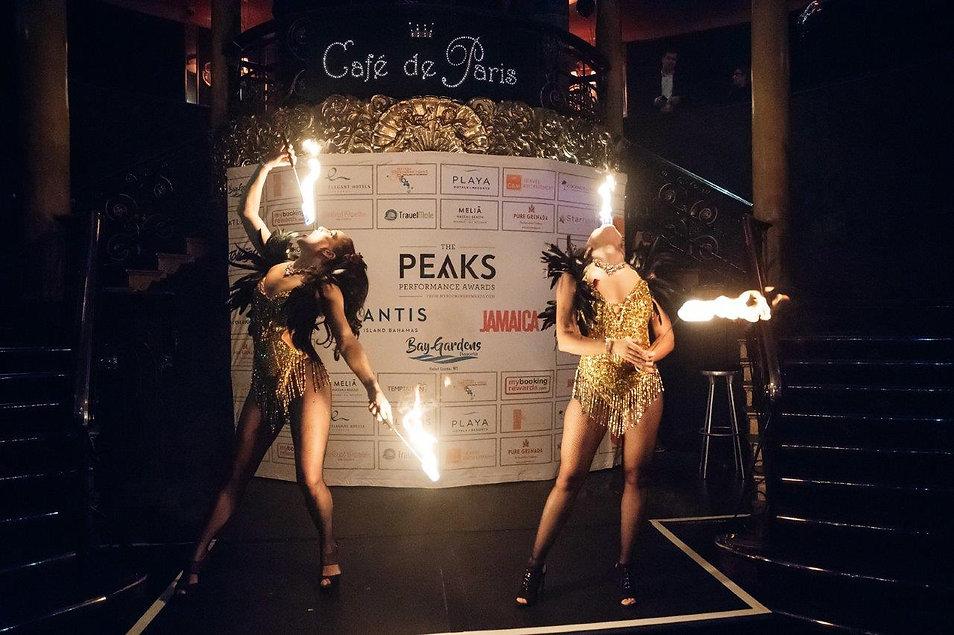 Fire Performers - Cafe de Paris May 2018