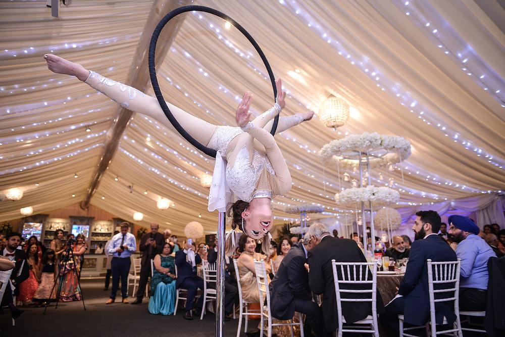 Free Standing Aerial Hoop