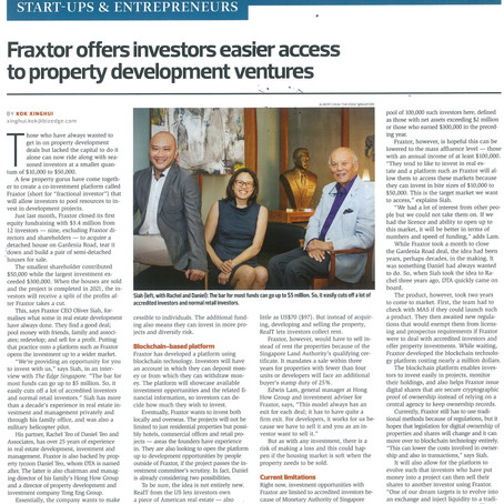 Fraxtor featured on The Edge: Issue 897