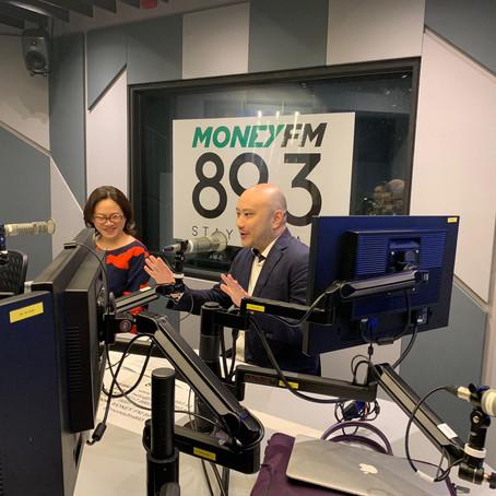 Catch us on Money FM 89.3