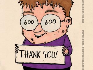 600 Facebook likes!