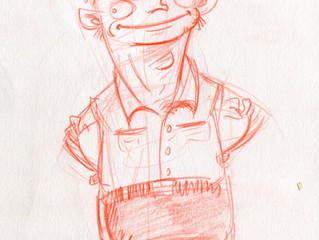 Random character doodle #2