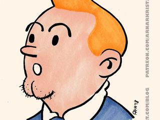 Homage 2 Hergé