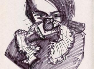 Speed Drawing: Niki de Saint-Phalle