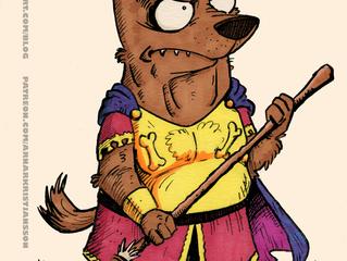 Random character doodle: Roman Shepherd