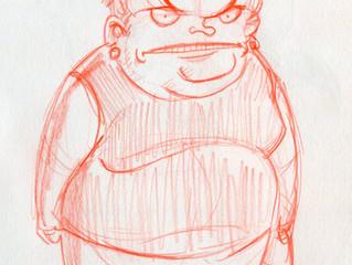 Random character doodles #1