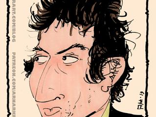 Speed drawing: Bob Dylan