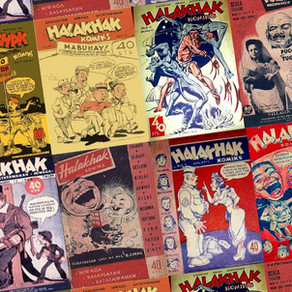 Ultimate throwback to PH's first comics mag