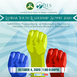 Lambak Youth to hold first online leadership summit