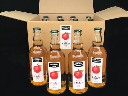 Peopleton Press Craft Cider Box (x12 500ml bottles) Press Original