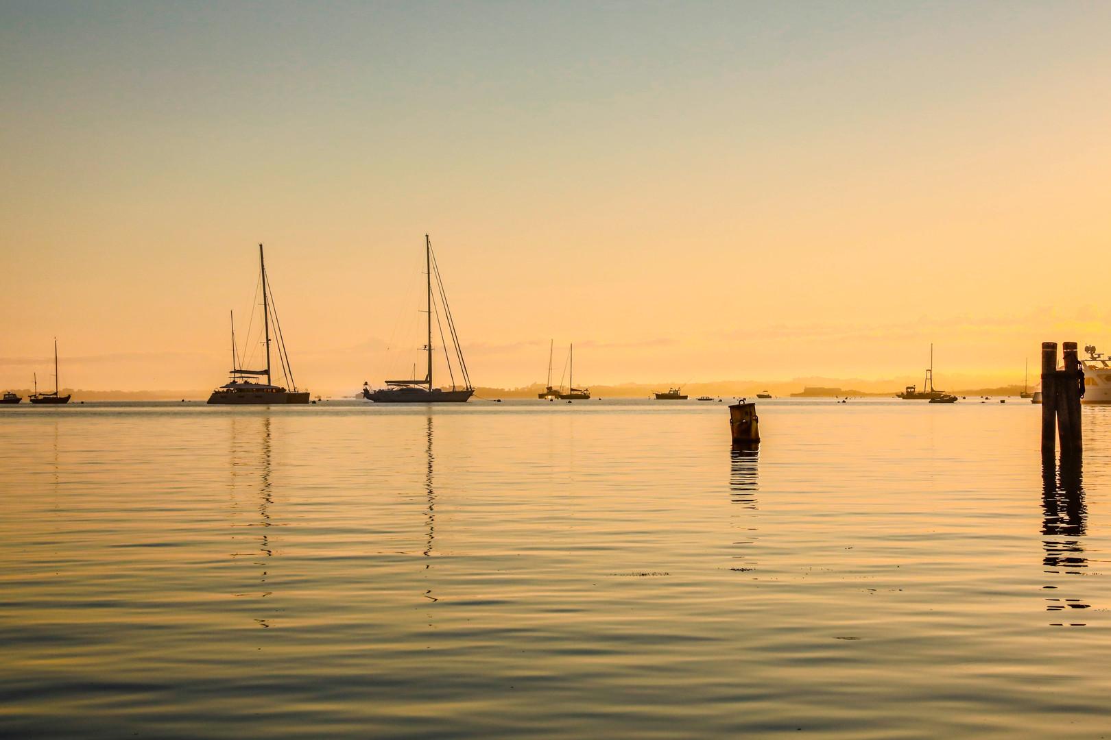 Early Morning Sail