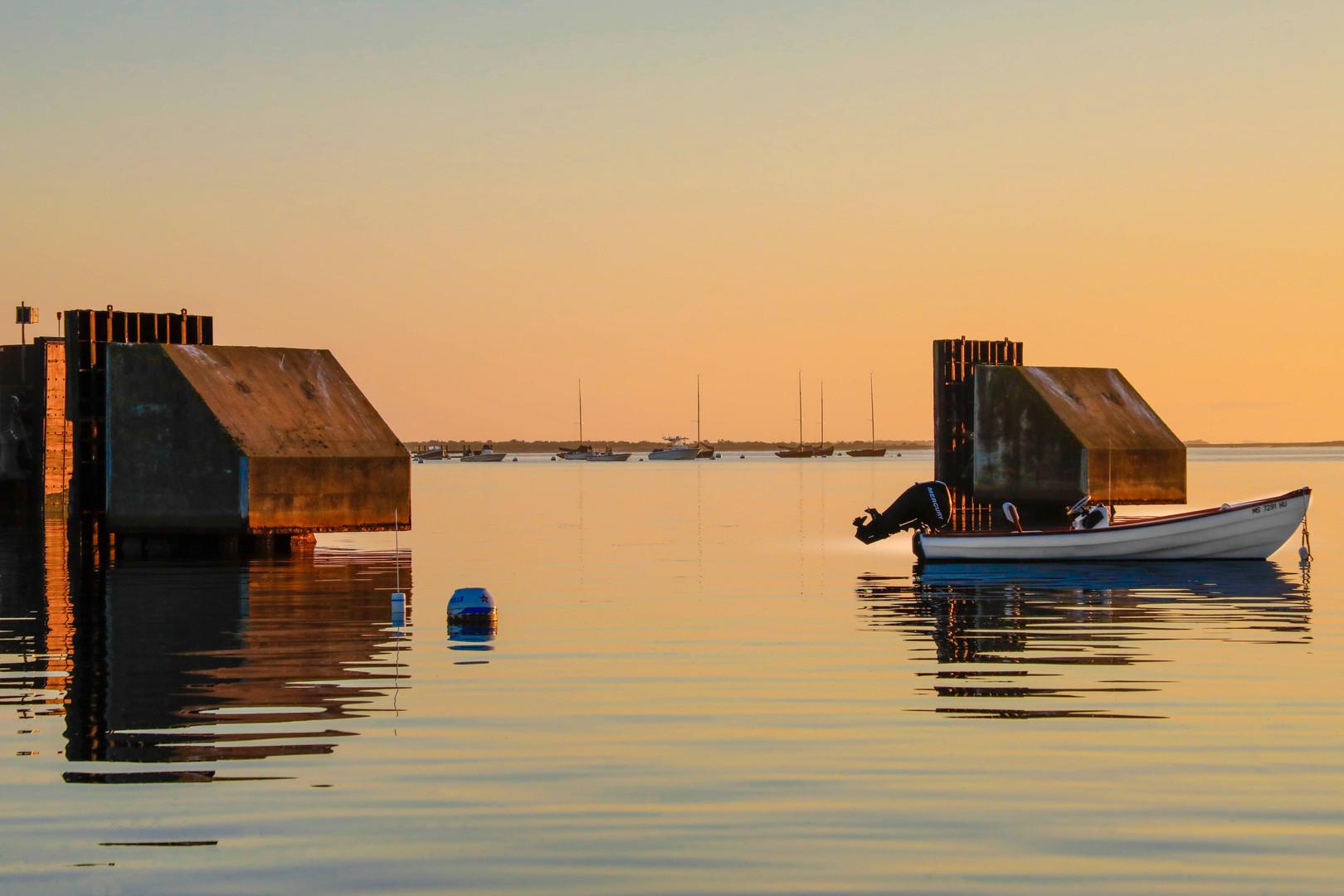 Pastel Light In Nantucket Harbor