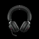 Jabra-Evolve2-65-Black-Stereo-Front-On-B