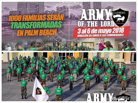 ¡ARMY OF THE LORD! = I + O + C