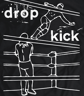 drop kick, pro wrestling t shirt, wrestling move, armbar,heel shirts, american wrestling shirts uk, shipped from uk, scottish