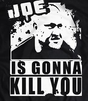 Samoa Joe T - Shirt, pro wrestling tee UK,