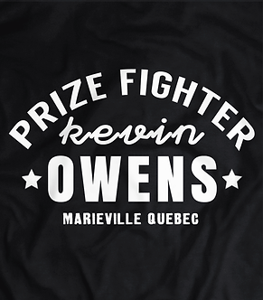 Kevin Owens,Prize Fighter T shirt, Canada,Wrestling tee,shipped from the UK,pro wrestling,Kevin Owens and Chris jericho