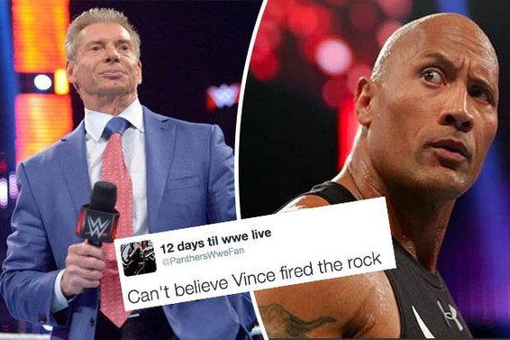 Vince McMahon FIRES THE ROCK
