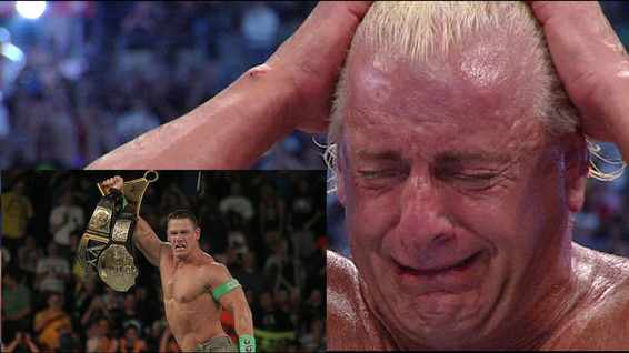 Watch: Ric Flair Comments on John Cena  tying his championship record