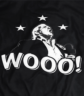 Ric flair woooo t shirt, old school wcw legend, the icon,styling and profiling.Charlotte Flairs dad/father the nature boy